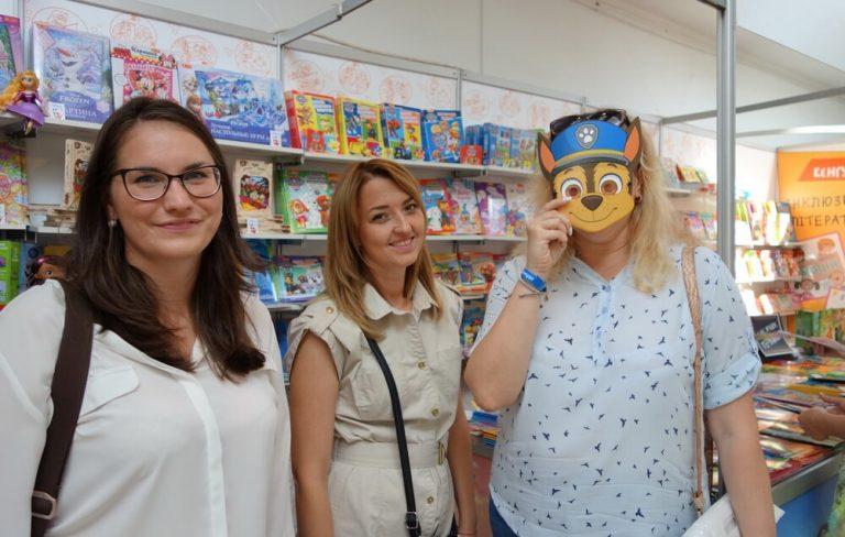 Менеджеры Фактор-Друк посетили стенд издательства «Ранок»