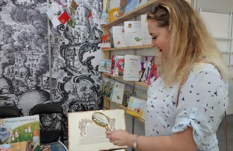 Е. Минакова — начальник сектора книжных изданий типографии «Фактор-Друк»