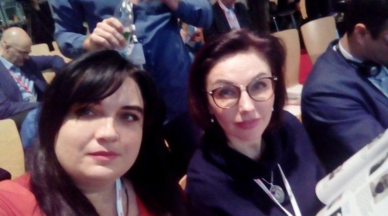 Гринюк Т. А. и  Орлова Ю. Б. — участники Future Book Forum 2018